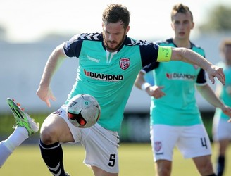 "Derry City say Ryan McBride will ""be remembered as one of the greats"""