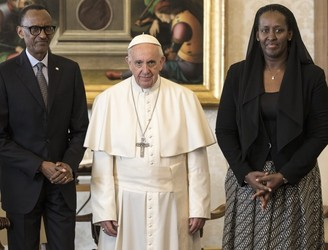 Pope asks forgiveness for 'failings of Church' during Rwandan genocide