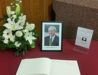 Book of condolence opens in Derry for Martin McGuinness