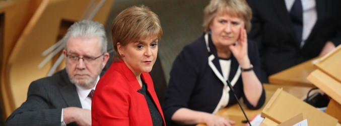 Scottish Parliament to vote on second independence referendum