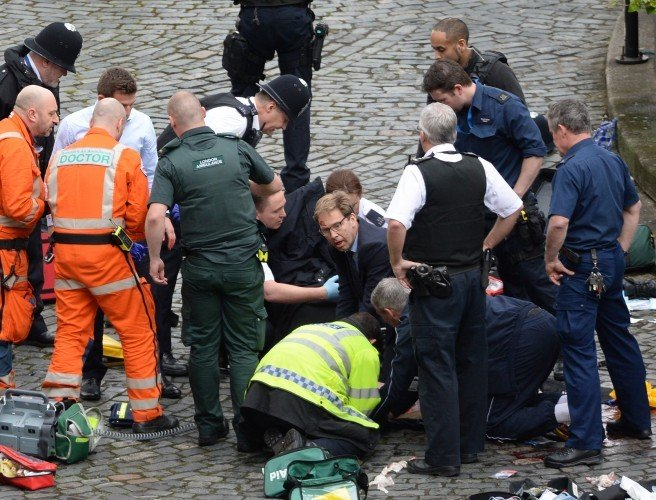 Westminster attack: Government minister gave first aid to slain police officer