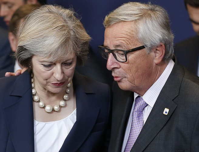 "The EU won't ""punish"" the UK - but it wants what it's owed"