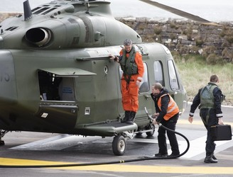 Search for missing Rescue 116 crewmen continues
