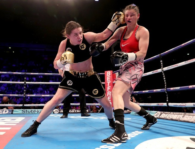 "Katie Taylor says she is ""two or three fights"" away from a World title shot"