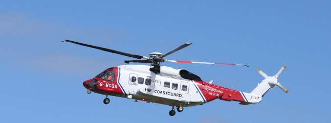 Aerial search for missing Dublin-bound helicopter hampered by poor visibility