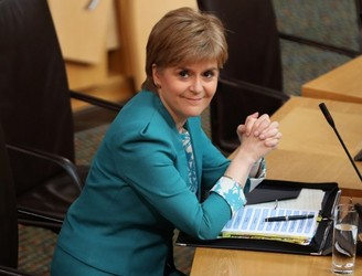 Nicola Sturgeon officially requests second Scottish independence referendum