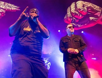 ★★★★☆: It's high-octane hi-jinx with Run The Jewels at the Olympia