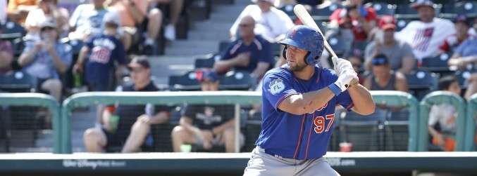 WATCH: Tim Tebow impresses in competitive baseball debut