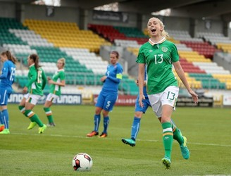 Stephanie Roche scores as Ireland defeat Slovakia