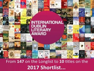 One Irish author makes 'International Dublin Literary Award' shortlist