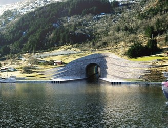 Norway charts new waters with world's first tunnel for ships