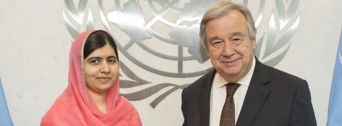 Malala Yousafzai named as youngest-ever UN Messenger of Peace