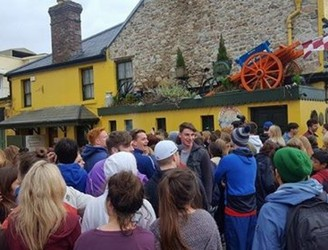 Crowds flock to Galway pub where Ed Sheeran reportedly shot his new video