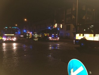 Six people taken to hospital after fire in Dublin