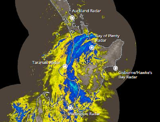 Evacuations in New Zealand ahead of powerful cyclone making landfall