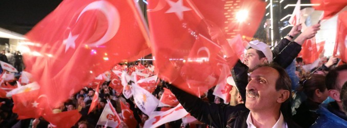 Turkish President claims victory in referendum over presidential powers