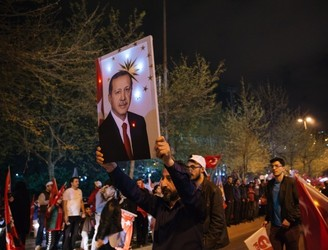 """It's too late now"", Erdogan tells opposition in Turkey"