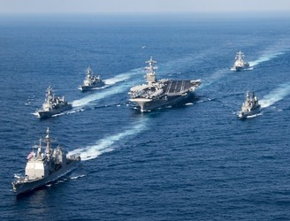 Fleet that US claimed had deployed near Korea was heading in opposite direction