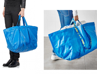 Fashion house Balenciaga mocked for €1,700 Ikea knockoff