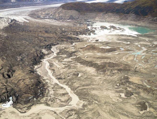Climate Change Causes Canada's Slims River to Change Terminus