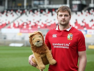 WATCH: Iain Henderson reacts to Lions nod