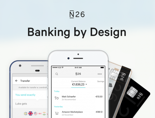 N26 offering mobile bank accounts for the self-employed