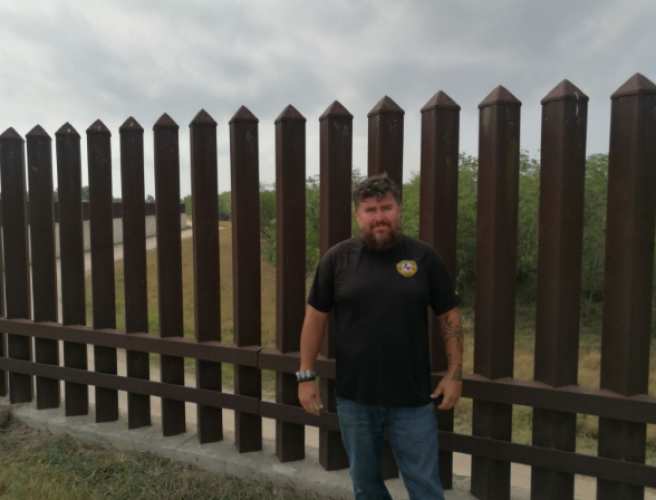 Trump voters find themselves on Mexican side of the wall
