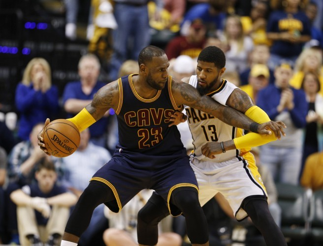 Cleveland become first team to advance in NBA Playoffs