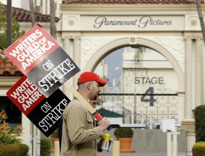 Crunch time in Hollywood, as writers' union votes overwhelmingly for strike