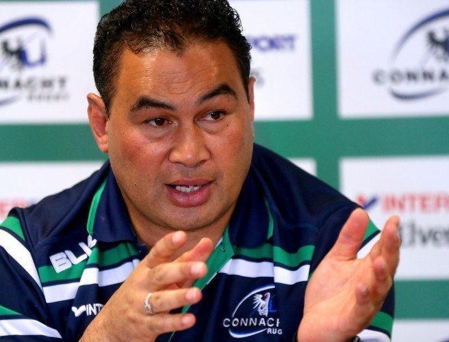 Connacht name team to face the Scarlets