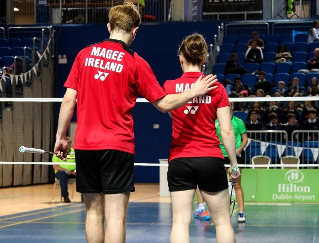 Magee siblings finish European Badminton Championship with bronze