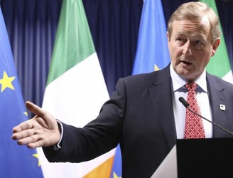 "Kenny hails ""important day"" for EU and Ireland"