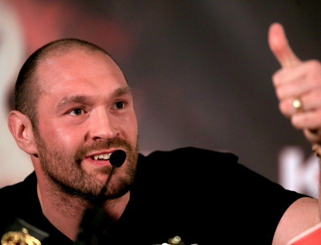 Tyson Fury accepts Anthony Joshua's challenge