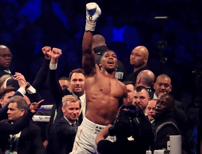 Mike Tyson praises Anthony Joshua impact