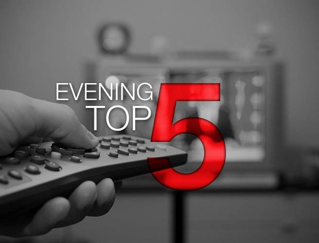 Evening top 5: Farage talks Ireland and Brexit; FBI director 'nauseous' over suggestion he influenced election