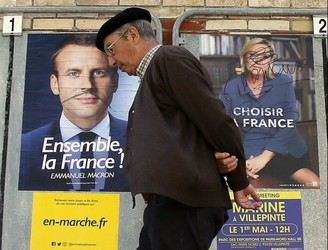 While France will pick a new President today, the real election starts tomorrow