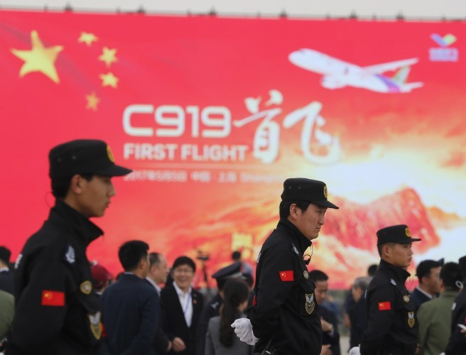 First made-in-China commercial jet has maiden voyage