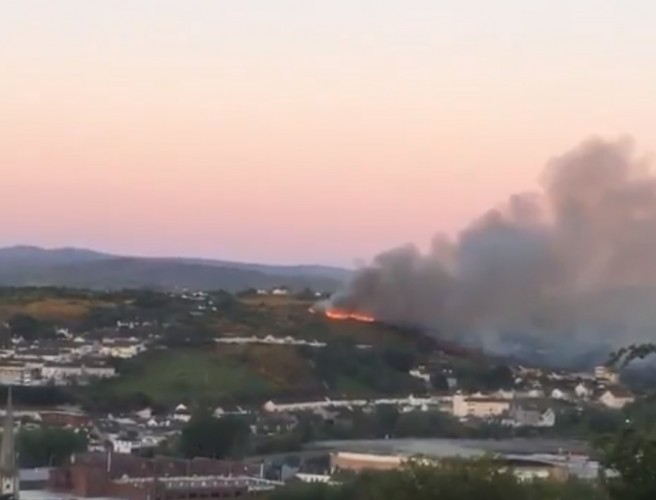"Authorities warn Northern Ireland gorse fires ""started deliberately"""