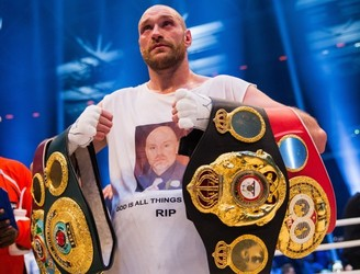 Tyson Fury claims Wembley is booked for Joshua fight