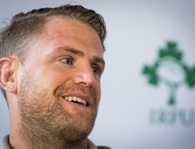 Jamie Heaslip isn't hiding his happiness with Ireland's 2019 World Cup draw