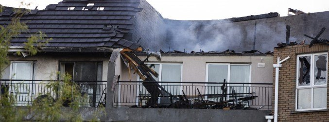 Joan Burton calls for 'detailed enquiry' into Dublin fire