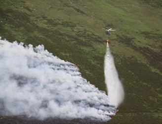 Galway forest fires brought under control