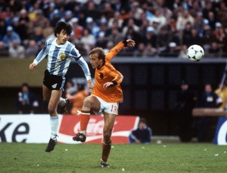 Johan Neeskens on the intimidating atmosphere at Argentina '78