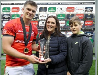Owen Farrell named European Player of the Year