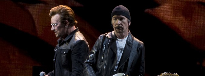 U2 bring out Pearl Jam's Eddie Vedder for opening of Joshua Tree US tour