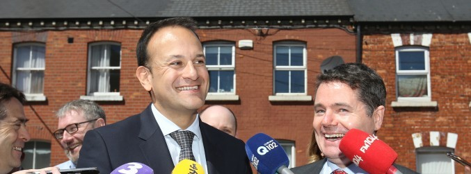 "Government chief whip throws support behind ""fearless"" Varadkar"