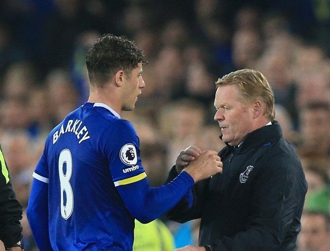 Koeman to offer clarity over Barkley's future