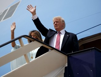 Trump arrives in Israel as foreign tour continues