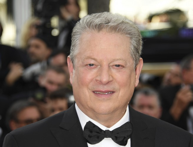 "Al Gore: ""No one person, not even a president, can stop the climate movement"""