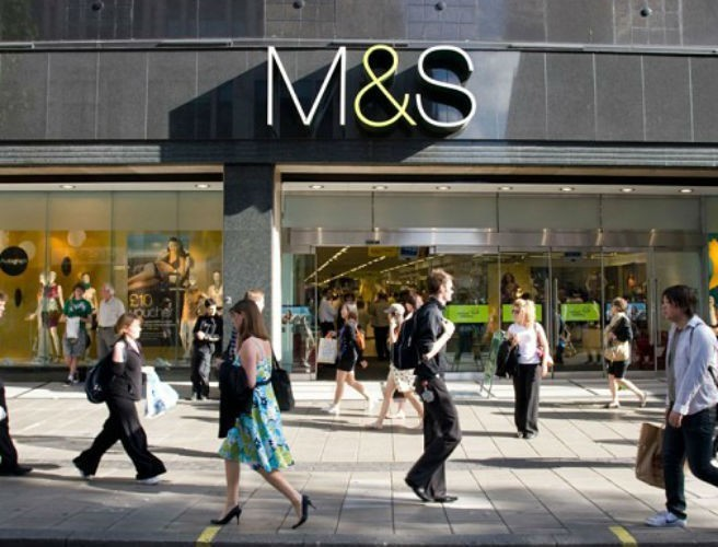 Marks & Spencer's pre-tax profits nosedive